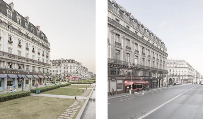 Thiên Đô Thành ở Trung Quốc gây hoang mang vì giống y hệt thành phố Paris của Pháp - Ảnh 4.
