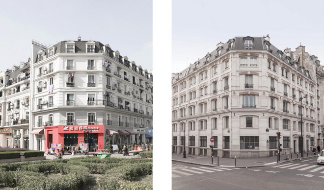 Thiên Đô Thành ở Trung Quốc gây hoang mang vì giống y hệt thành phố Paris của Pháp - Ảnh 7.