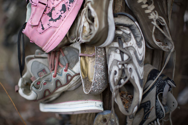 Khu rừng bí ẩn ở Canada: Hàng trăm đôi sneakers bị đóng đinh lên cây, không ai biết lý do vì sao - Ảnh 14.
