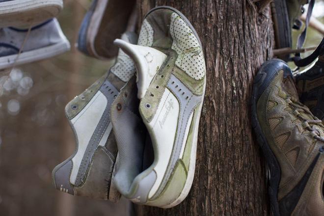 Khu rừng bí ẩn ở Canada: Hàng trăm đôi sneakers bị đóng đinh lên cây, không ai biết lý do vì sao - Ảnh 16.