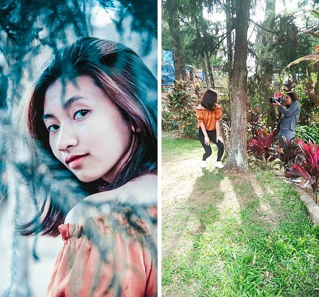 Chụp ảnh sống ảo kiểu bình dân: Khi sắt vụn, bụi rậm và lá khô cũng thành siêu phẩm - Ảnh 10.