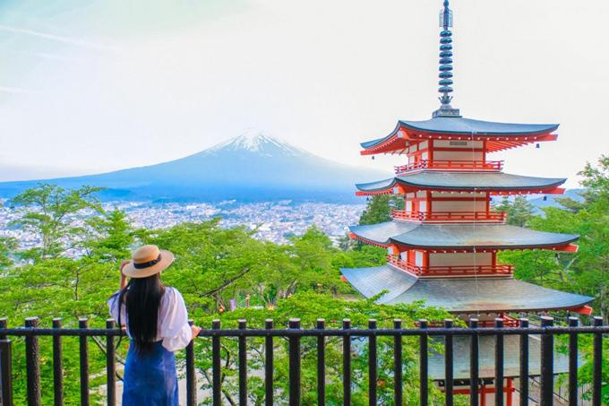 6 điểm ngắm núi Phú Sĩ
