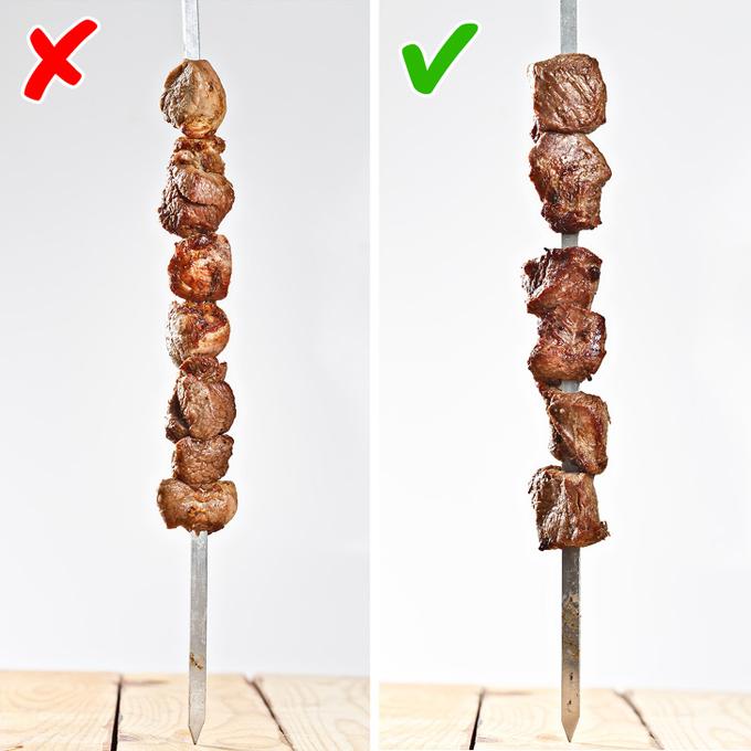 9 lỗi sai khi nướng thịt xiên chỉ cần khắc phục là ngon hết ý