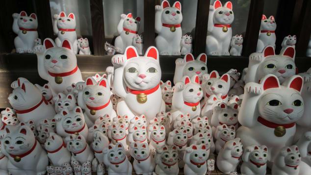 Bí mật về chú mèo may mắn Maneki Neko hay được mua làm đồ lưu niệm - 1