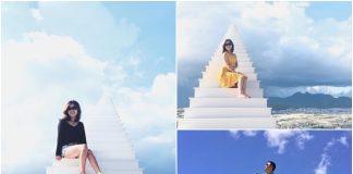 Nấc thang lên thiên đường ở Đà Lạt khiến giới trẻ phát sốt