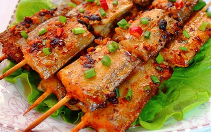 Kết quả hình ảnh cho cá hô nướng muối ớt