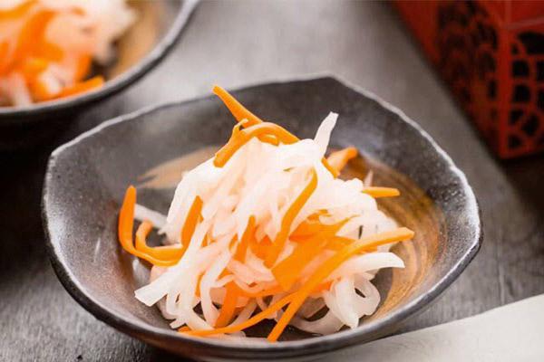 Kết quả hình ảnh cho củ cải ngâm chua ngọt