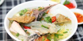 Bún sứa là món ăn sáng ở Nha Trang