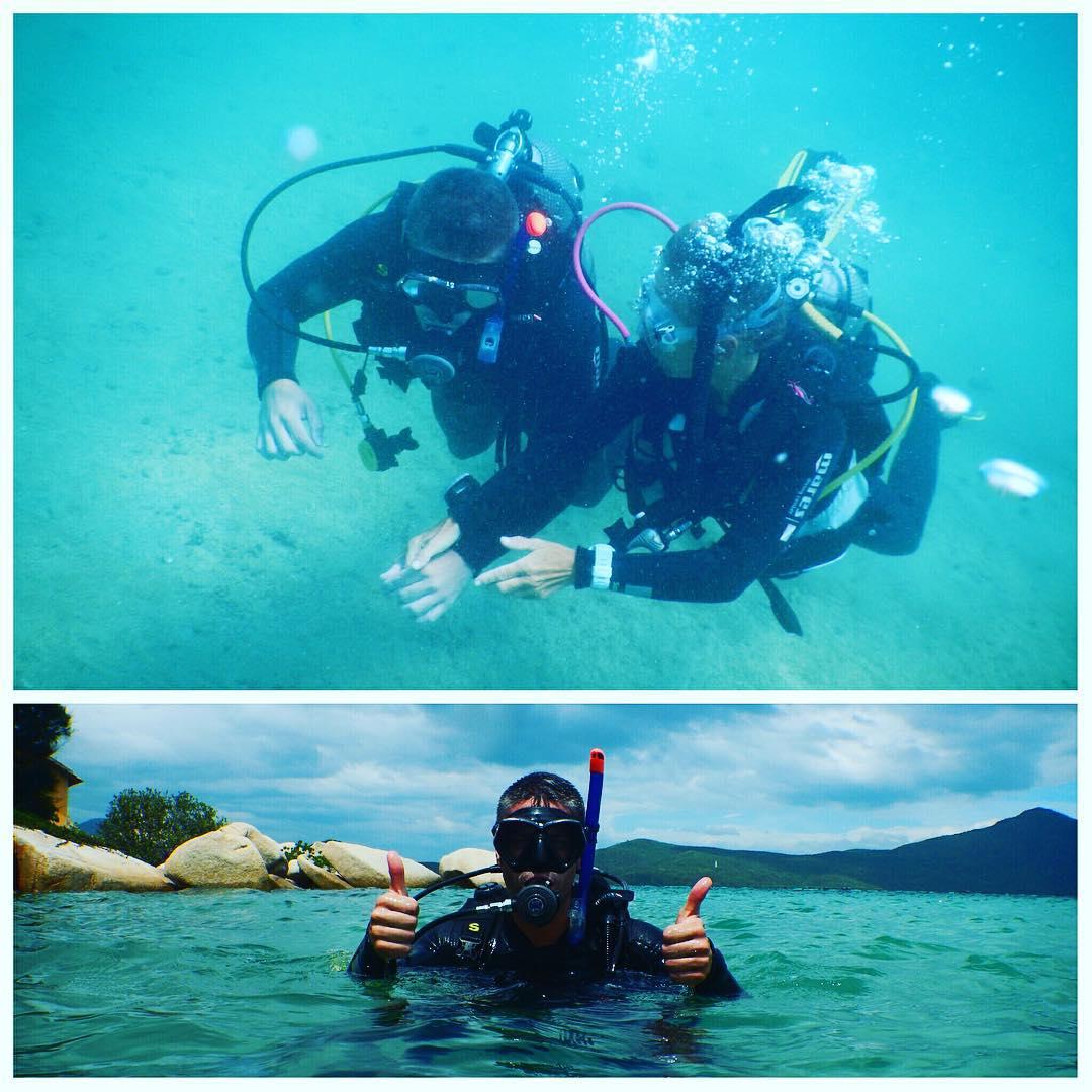Đến lặn biển - Ảnh: @tryppix