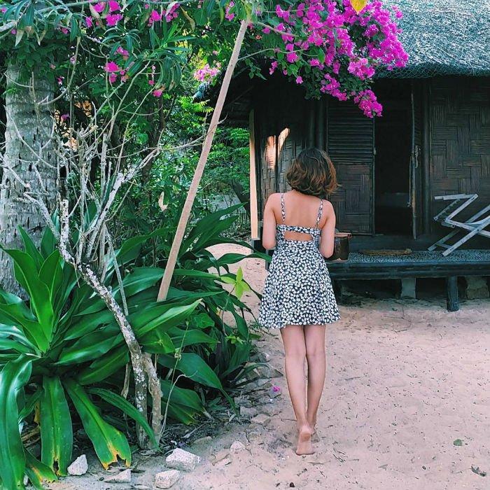 Hòn Ông có các bungalow giản dị nhưng tiện nghi - Ảnh: @mylinhhp