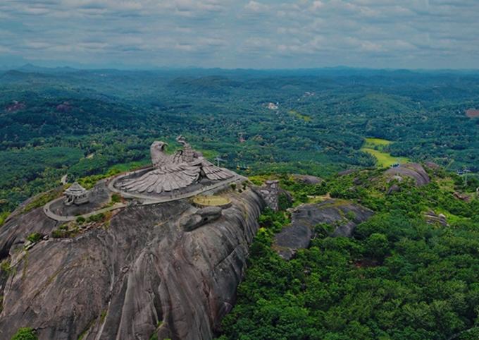 Toàn cảnh công viên Jatayu Earth Centre - Ảnh Team Jatayu