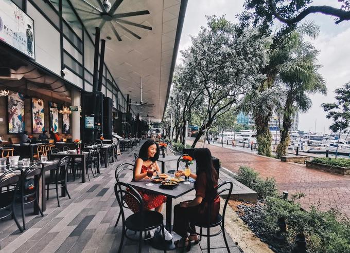 7 quán cà phê ngắm vịnh đẹp như mơ ở Singapore