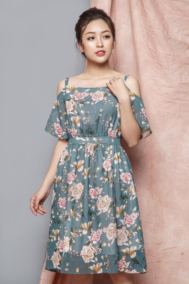 Image result for đầm hoa
