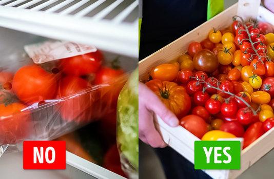 Những loại rau củ quả càng để tủ lạnh càng nhanh hỏng