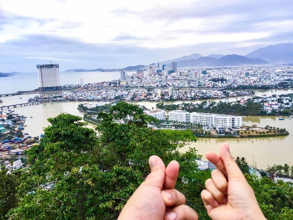 Khung cảnh chùa Hải Ấn. (Ảnh: Ngô Đồng)