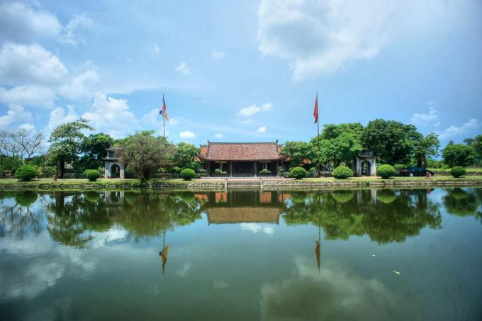 Toàn cảnh chùa Keo Thái Bình. Ảnh: redsvn.net