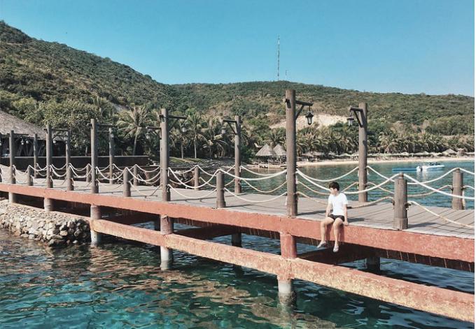 Đến đây, bạn sẽ tận hưởng những giây phút thư giãn tuyệt vời nhất. Ảnh: touristviet.vn