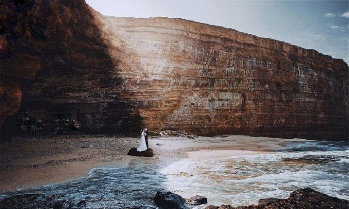 Các cặp đôi cũng thực hiện bộ ảnh cưới tại đây. Ảnh: yong.vn